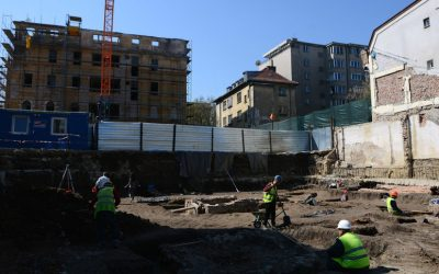 Изграждането на сгради дърпа нагоре строителния сектор