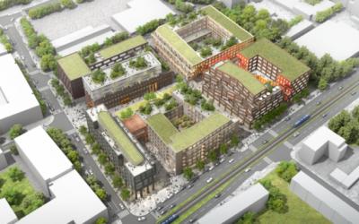 Замислят бизнес-квартал с изцяло зелени покриви в Мюнхен