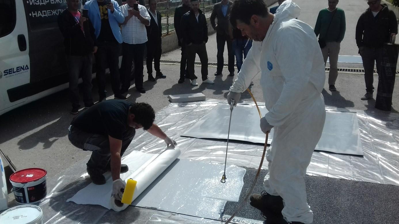 Национална среща на компании специализирани в покривните хидроизолационни дейности
