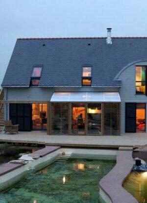 Органична и биоклиматична къща