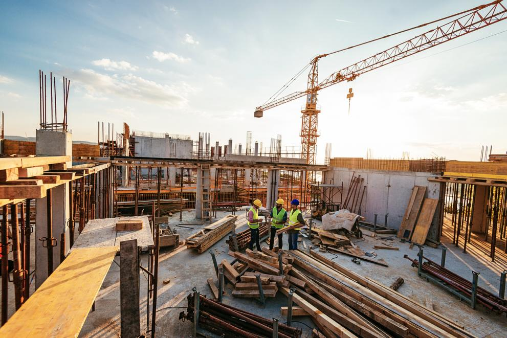 България е втора в ЕС по най-малък месечен спад на строителството заради кризата