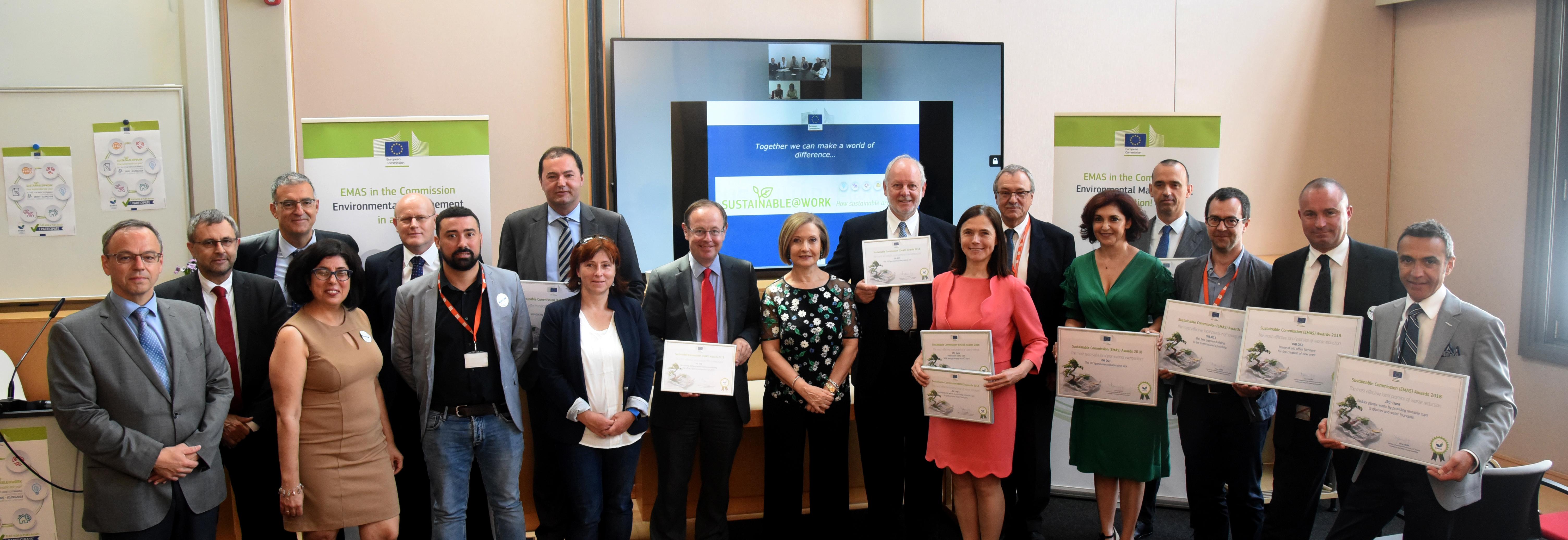 Член на БАИС с награда EMAS 2018 на Европейската Комисия