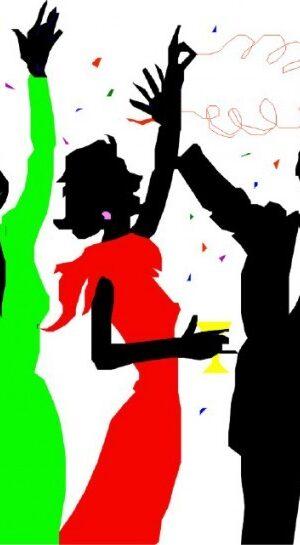 Покана за коледно парти на БАИС