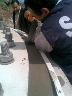 КЬОСТЕР ТУРБО-Система за бързи поправки на бетонови повърхности, подложени на тежки натоварвания