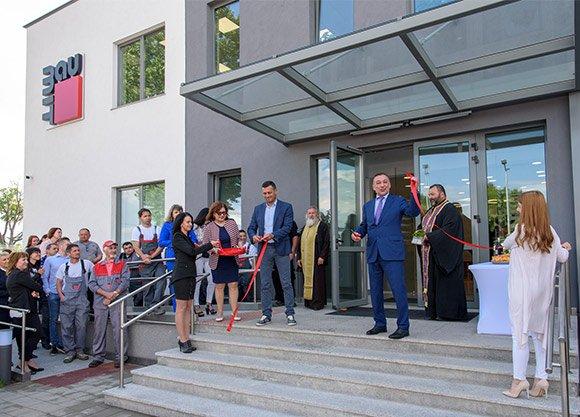 Баумит откри новата си офис сграда