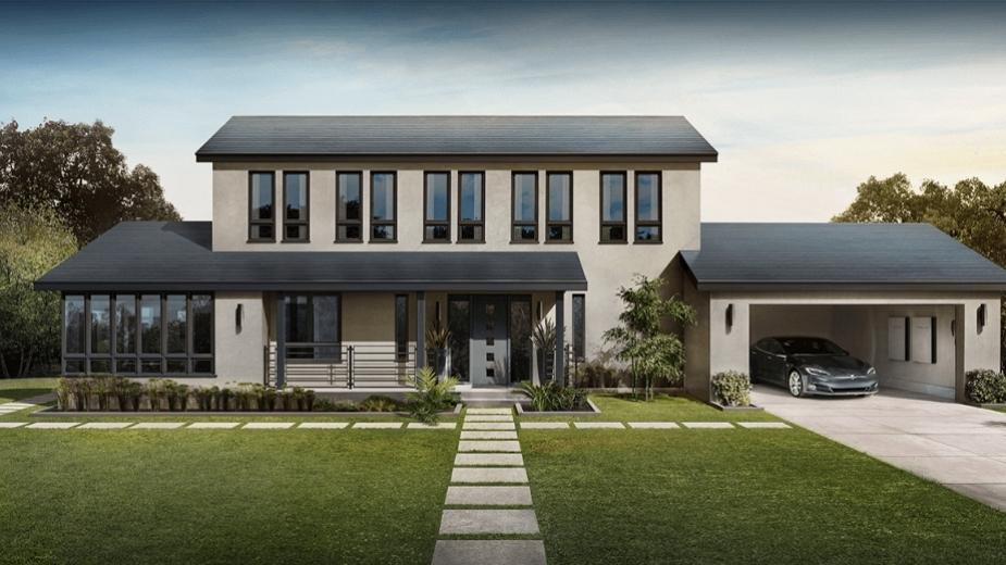 """Патент на Tesla разкри как """"керемиденият"""" ѝ покрив прави ток"""